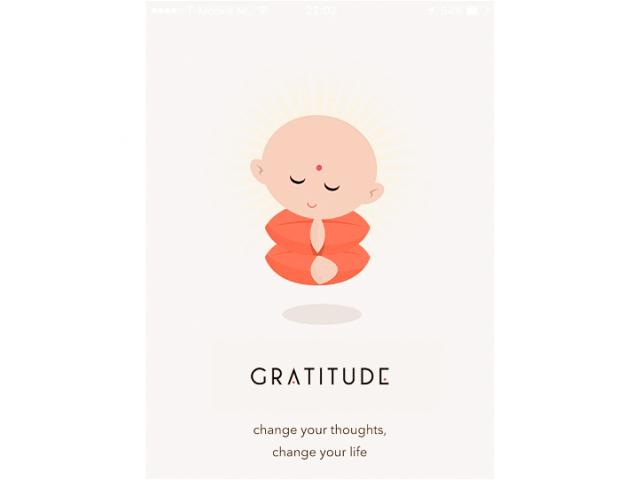 Dankbaar zijn voor kleine dingen maakt het leven groots!